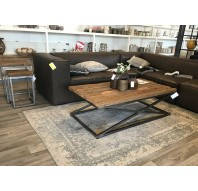 Coffeetable robuust hout
