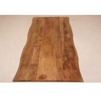 Tree top table top mango with live edge